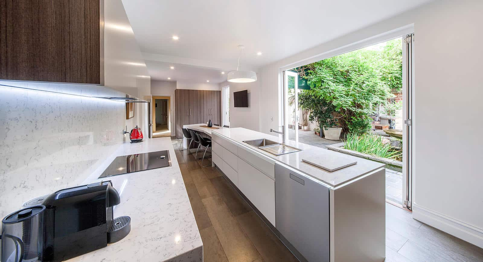a kitchen prepared for a design appointment